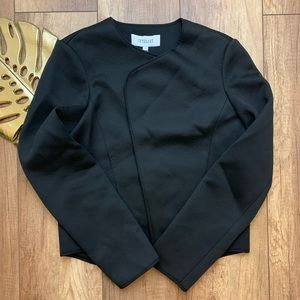 NWT Derek Lam 10 Crosby Black Blazer Tulip Back